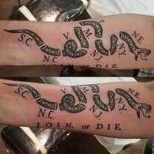 29 Best Join or Die Tattoo images