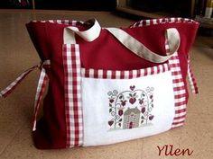 Tralala Design made into a tote bag.