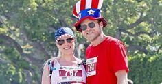 Stars, Stripes & a Baby Bump! Pregnant Heidi Montag Enjoys Adorable July 4 Run with Spencer Pratt