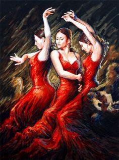 Company of dancers