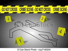 Stock Illustration - Crime scene - stock illustration, royalty free illustrations, stock clip art icon, stock clipart icons, logo, line art, pictures, graphic, graphics, drawing, drawings, artwork
