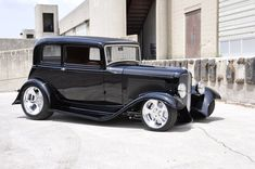 Miss Vicky is an all steel '32 with tons of custom features throughout.