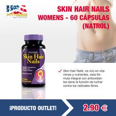 ********************¡¡ZONA OUTLET!!*****************  Todas las ofertas se encontrarán disponibles hasta agotar existencias. ¡STOCK LIMITADO!   http://usafitness.es/es/outlet/1093-skin-hair-nails-women-s.html