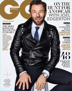 Joel Edgerton covers the November 2016 issue of GQ Australia.