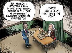 obama cartoon pictures | MuskogeePolitico.com: Constitutional Flaw?