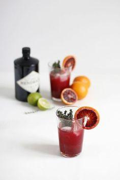 Drink: Blutorange-Thymian-Gin-Cocktail | we love handmade