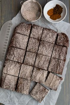 Mexican Brownies: su