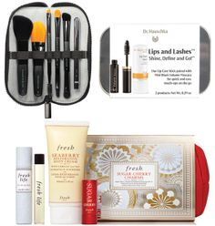 Our The Lips & Lashes set is featured on NewBeauty.com. Not available at drhauschka.com, you'll find it at our online and store retailers, like www.lovelyskin.com, as mentioned on NewBeauty.com.