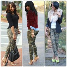 Camouflage Pants Outfit Ideas Collection camouflage pantsgot to get a pair camouflage fashion Camouflage Pants Outfit Ideas. Here is Camouflage Pants Outfit Ideas Collection for you. Camouflage Pants Outfit Ideas woven camo cargo pocket pants b. Camouflage Fashion, Camo Fashion, Look Fashion, Fashion Outfits, Camouflage Pants, Camo Outfits, Casual Outfits, Night Outfits, Fall Winter Outfits