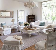 Rustikale Wand-wohnzimmer Sofa-set Moderne-einrichtung Ideen Tipps ... Wohnzimmer Weis Shabby