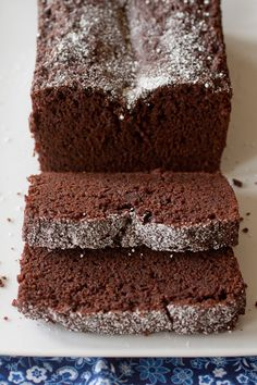 Everyday Chocolate Loaf Cake by Smells Like Home