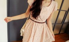 Wish I looked like this in dresses.. Since I had to end up short.. Why couldn't I have at least been petite and slim..