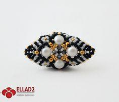 Tutorial Zazu Ring-Beading Tutorials and Patterns by Ellad2