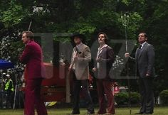 Anchorman 2 Brawl Scene Previewed in New Set Photo