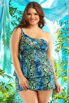 Another plus sized swimsuit for me...