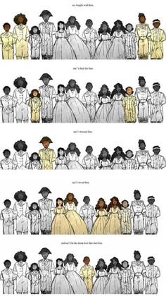 """This part of the show is so freaking clever // I hate how John Laurens is partially shaded in during """"me, I loved him""""! I do not support homosexual Hamilton ships! Musical Hamilton, Hamilton Broadway, Theatre Nerds, Musical Theatre, Theater, Angel Of Death, Les Miserables, Hamilton Lin Manuel Miranda, Hamilton Peggy"""