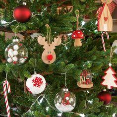 Decorazione di Natale campana da appendere H 9 cm | Maisons du Monde