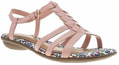 Womens dusty pink hush puppies pale pink nishi t-strap sandals from Schuh - £45 at ClothingByColour.com T Strap Sandals, Gladiator Sandals, Dusty Pink, Pale Pink, Hush Puppies, Summer Colors, Shoe Shop, Pink Fashion, Kid Shoes