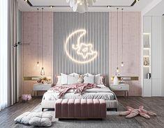 Luxury Kids Bedroom, Room Design Bedroom, Girl Bedroom Designs, Stylish Bedroom, Modern Bedroom Design, Room Ideas Bedroom, Home Room Design, Girls Bedroom, Small Room Bedroom