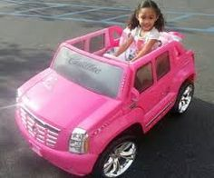 got her own car