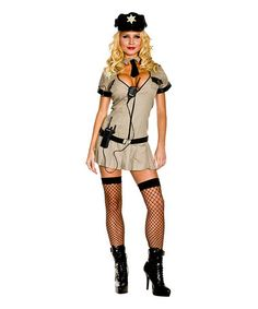 This Tan Sheriff Costume Set - Women is perfect! #zulilyfinds