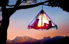 Treetop tent