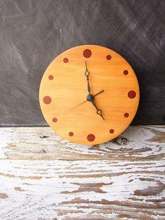 Simple  Wooden Clock