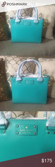 🎉🎉BRAND NEW KATE SPADE PURSE!🎉🎉 Brand new small Quinn Wellesley Kate spade purse! Perfect for Christmas!!! kate spade Bags Shoulder Bags