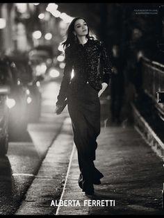 Vogue Paris sept. issue FW campaign #AlbertaFerretti