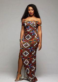 Nala African Print Formal Gown (Gold/White Diamonds)- Clearance at Diyanu African Formal Dress, Long African Dresses, African Traditional Dresses, African Attire, African Fashion Dresses, African Wedding Attire, Ankara Fashion, Short Dresses, Ankara Mode