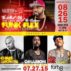 The Official Funk Flex Birthday Celebration @Stage 48 Wednesday August 26, 2015 « Bomb Parties – Club Events and Parties – NYC Nightlife Promotions