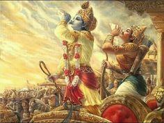 संजय उवाच   दृष्टवा तु पाण्डवानीकं व्यूढं दुर्योधनस्तदा । आचार्यमुपसंगम्य राजा वचनमब्रवीत् ॥  भावार्थ :   संजय बोले- उस समय राजा दुर्योधन ने व्यूहरचनायुक्त पाण्डवों की सेना को देखा और द्रोणाचार्य के पास जाकर यह वचन कहा॥2॥  1:2   Spoke thus Sanjaya, Having seen the numerous battle formations of the Pandava's army, king Duryodhana approached his teacher and uttered the following words.