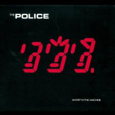The Police Album Covers   Police Ghost in the Machine Album Cover