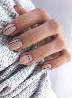 37 Superb Oval Nail Art Ideas Skin beauty is one of the most sensitive areas f. Nail Art Designs, Winter Nail Designs, Acrylic Nail Designs, Acrylic Nails, Minimalist Nails, Clean Nails, Fun Nails, Oval Nail Art, Pink Oval Nails