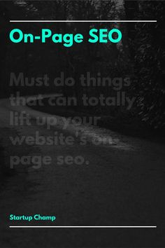 Must do things for on-page seo