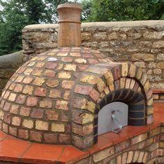 brick pizza oven outdoor Mezzo Roger Crisp - The Stone Bake Oven Company Build A Pizza Oven, Pizza Oven Kits, Diy Pizza Oven, Pizza Ovens, Oven Diy, Brick Oven Outdoor, Brick Bbq, Pizza Oven Outdoor, Oven Design