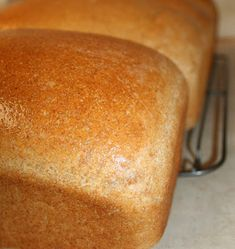 Capital B: Secret Ingredient Wheat Bread Bread Machine Recipes, Bread Recipes, Yummy Recipes, A Food, Good Food, Yummy Food, Opening A Bakery, Whole Wheat Bread, Bread And Pastries