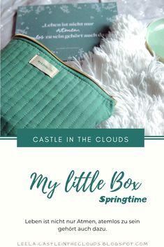 {My little Box} Springtime - März 2020 Beauty Box, Little Boxes, Tricks, Louis Vuitton Damier, German, Castle, Clouds, Content, Website
