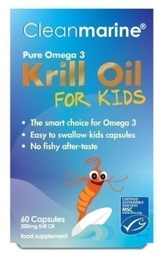 Clean Marine Krill Oil for Kids - 60 x 200mg Gelcaps has been published at http://www.discounted-vitamins-minerals-supplements.info/2013/04/11/clean-marine-krill-oil-for-kids-60-x-200mg-gelcaps/