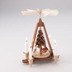 Handmade German Candle Pyramid