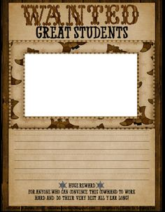 Ms. Jones' Junction: Western Theme Classroom - Writing Freebie
