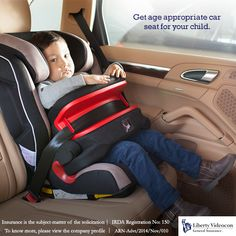 Booster seats for older children and infant seats for babies, whatever your child's age, ensure you get the right car seat for them. #RoadTips