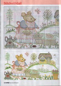 Gallery.ru / Фото #1 - Cross Stitch Crazy 088 август 2006 - tymannost