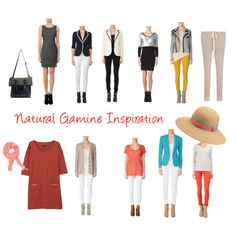 Natural Gamine Inspiration, created by jjeanine on Polyvore
