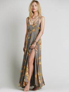 Free People Winter Garden Maxi at Free People Clothing Boutique  oh my gosh I want this so bad.