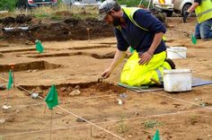 Ancient artefacts uncovered at the building site for the new Guildford fire station have been dated back to the Ice Age.  More than 2,400 flints shaped into tools and blades were dug up by archaeologists in the summer and are said to be 14,000 years old.