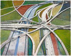 "Harry B. Chandler, ""Long Beach 710 x Century 105 #3.3.""   Image: Courtesy of the artist."