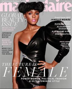 Janelle Monae in Alexandre Vauthier Pre-Fall 2017 on the May 2017 Cover of Marie Claire Magazine