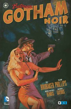 'Batman: Gotham Noir', de Ed Brubaker y Sean Phillips