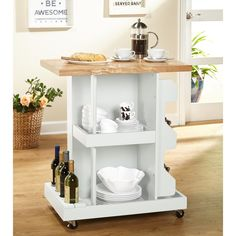 Shop Simple Living Hampton Kitchen Cart - Free Shipping Today - Overstock.com - 13024517